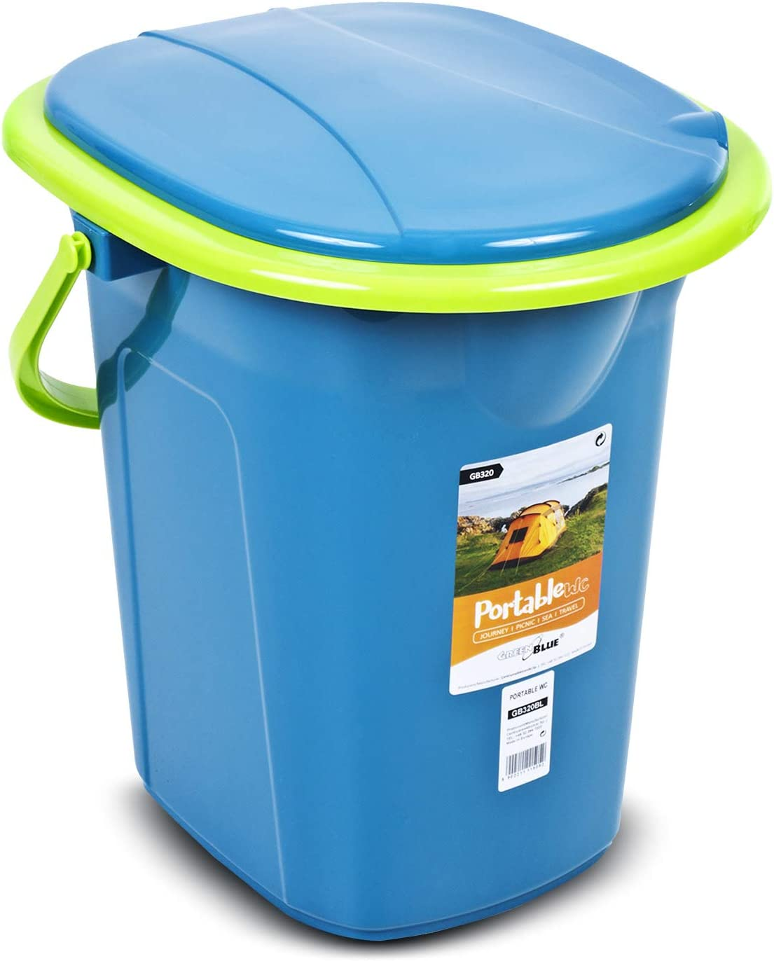 Green Blue GB320 Portable Toilet 19L