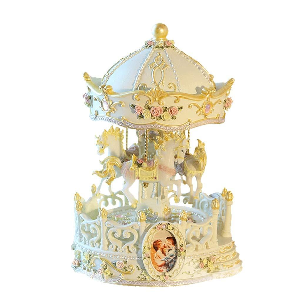 Spieluhr Happy Angel Music Box Karussell Spieluhr Geburtstagsgeschenk
