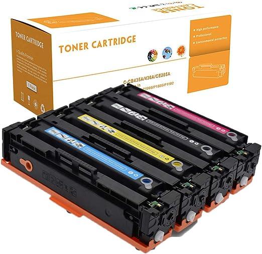 TonxIn Compatible con Cartucho de tóner para la Impresora HP ...