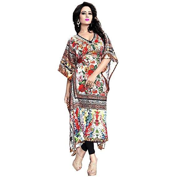 5819251f1643 Designer kaftans online India boutiques patterns caftan maxi dress:  Amazon.in: Clothing & Accessories