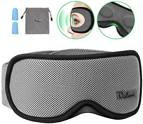 Contoured Blindfold Breathable Anti Slip Adjustable product image