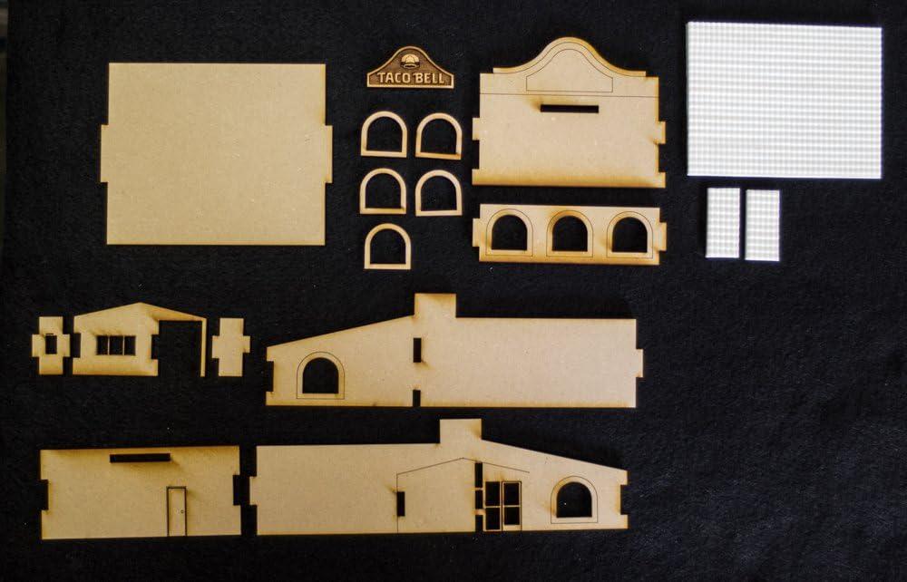 escala 1//12th Casa De Muñecas Resina ladrillo de pollo KP3.5