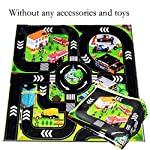 Lantusi Kids Play Mat City Road Parking Map Game Scene Educational Toys Learning & Education