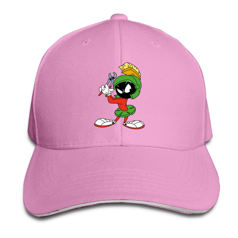 Amazon.com  Style Marvin The Martian Spirit Mars Rover Bugs Bunny Trucker  Tats Ash Sandwich Peaked Cap (6311343451898)  Books b655865626