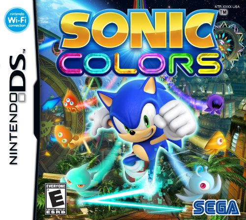 Sonic Colors - Nintendo DS (Sonic Games For Nintendo Ds)