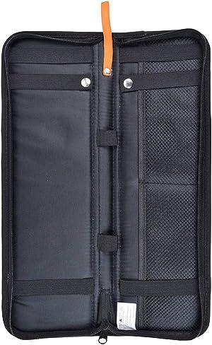 Tie Case Travel Nylon Tie Storage Holder Stores up to 2 Ties-Black
