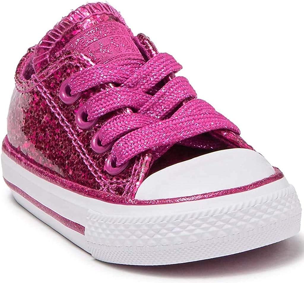 baby converse pink glitter