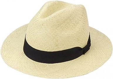 Tradicional Panama Sombrero Colombia Color Blanco – Comercio Justo ...