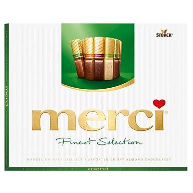 Merci Bombones de Chocolates - 3 Paquetes de 250 gr - Total: 750 gr
