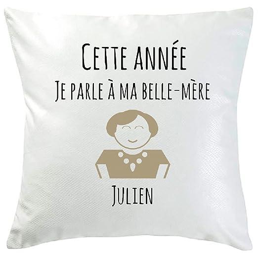 Amikado cojín personalizado resoluciones belle-mère: Amazon ...