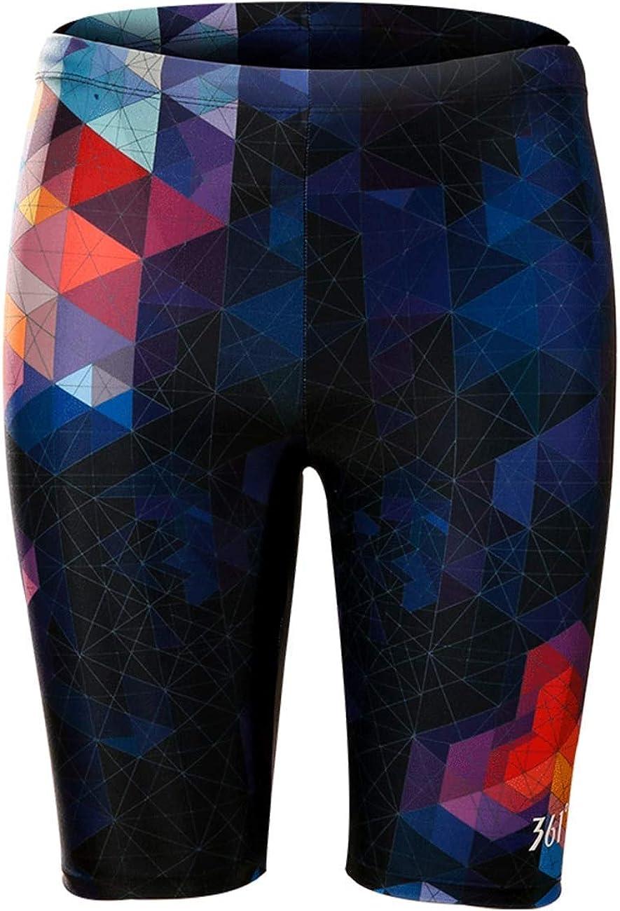 361° Swim Jammers for Men, Pro Racing Training Swimsuit, Chlorine Resistant Endurance: Clothing