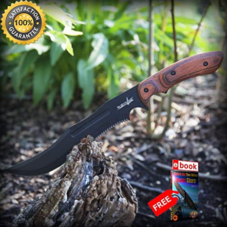 Amazon.com: Luna Knives - Cuchillo táctico de supervivencia ...