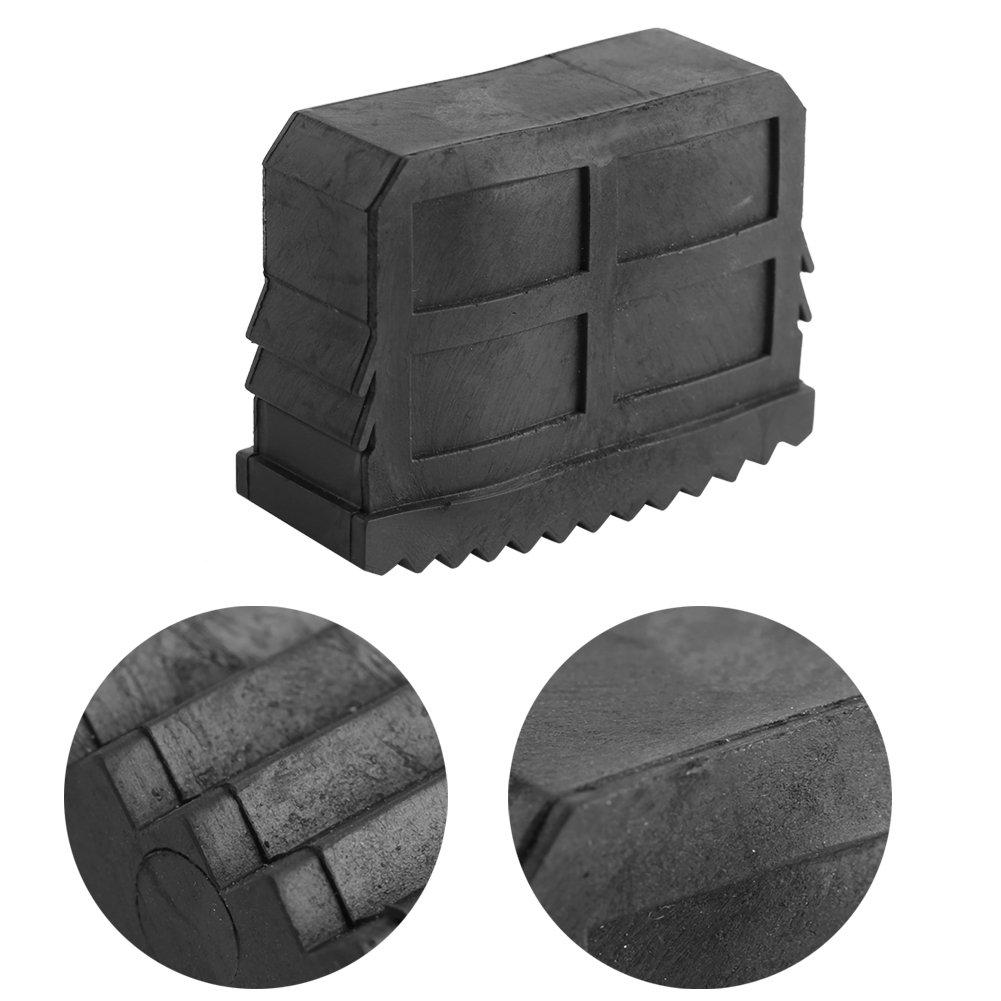 2 Unids Protectores de Piso de goma antideslizante Pies Almohadillas para Muebles