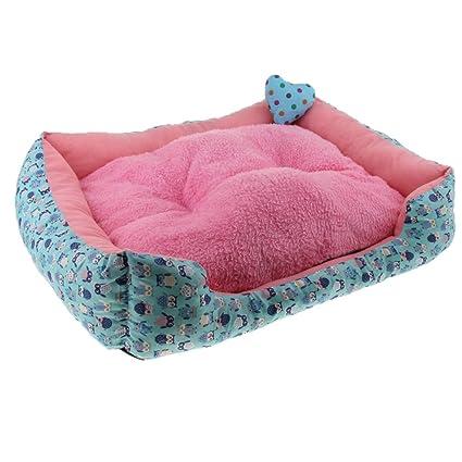 Homyl Cojín Saco Dormir Sofá Cama Perro Gato Accesorios de Animal Fácil de Usar Elegante -