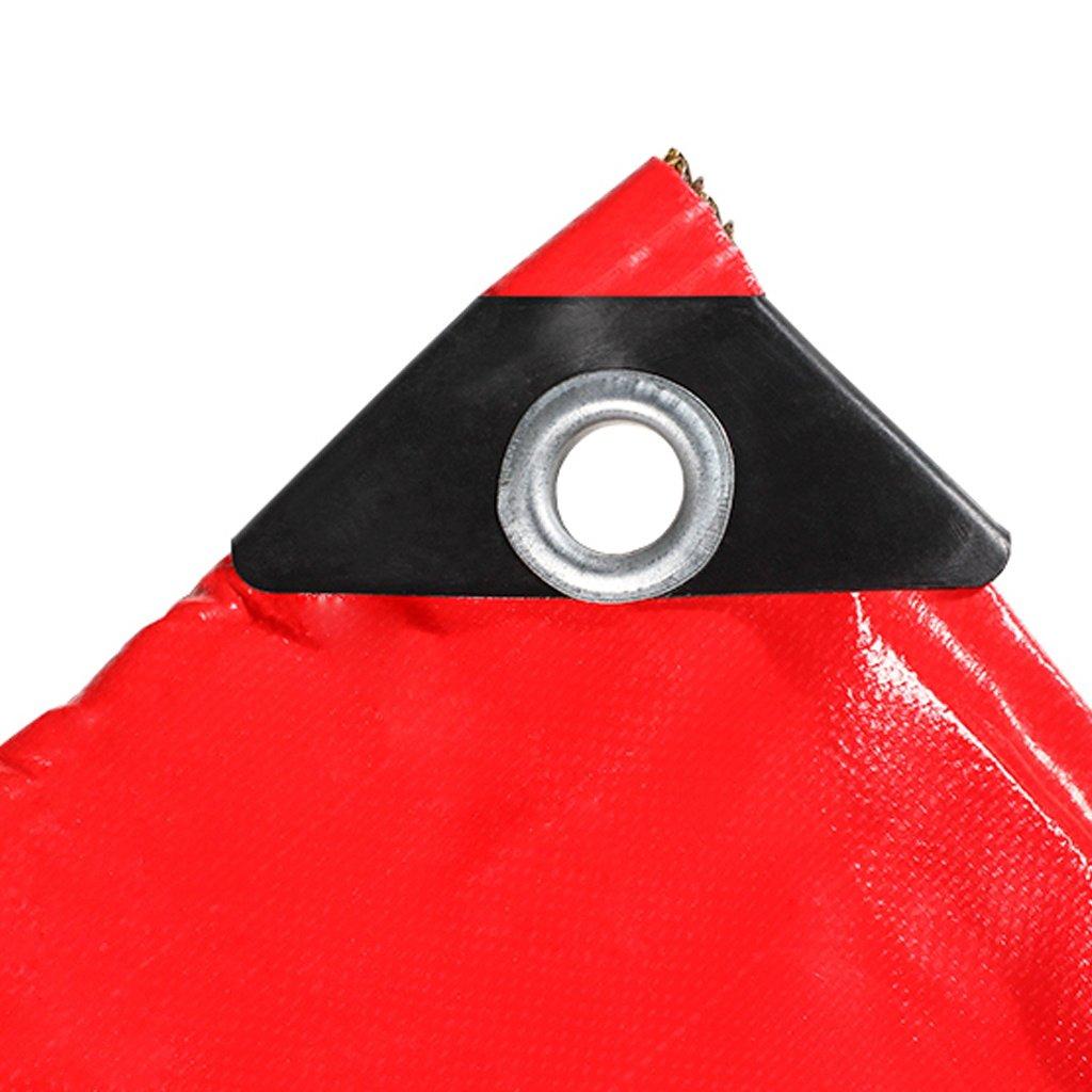 Mehrzweck Plane Rote Planen-Blatt-Plane-Multifunktionsponcho Sonnenschutz-Kälte-Widerstand, für kampierendes Fischen-im Garten arbeitender Sonnenschutz-Kälte-Widerstand, Planen-Blatt-Plane-Multifunktionsponcho Stärke 0.45MM, 470G   m², 15 vorhandene Größe Schutzplane 65d8b8