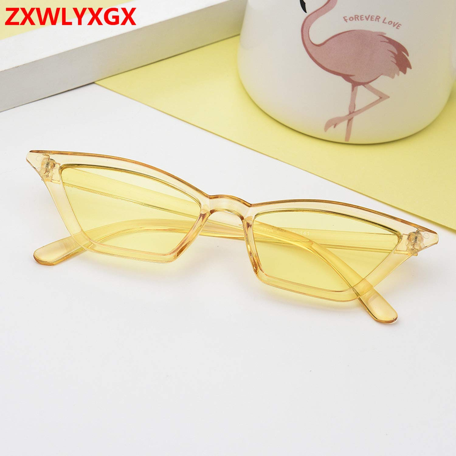 Amazon.com: 2019 brand design new cat eye glasses sunglasses ...