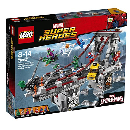 LEGO Marvel Super Heroes Spider-Man: Web Warriors Ultimate Bridge Battle 76057 by LEGO (Ultimate Spider Man Web Warriors Spider Verse)