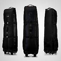 PGM POUR GOLF Sac de voyage à roulettes–--- Double Deck, plus épais, en nylon imperméable, avec base