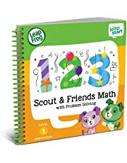 LeapFrog LeapStart Preschool Activity Book: Scout & Friends Math and Problem Solving