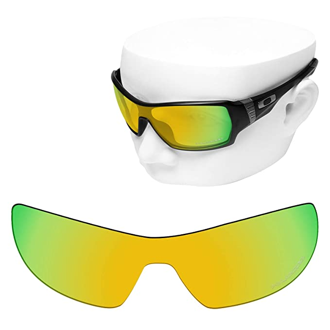 0db4cafed1 OOWLIT Replacement Sunglass Lenses for Oakley Offshoot 24K Combine8  Polarized