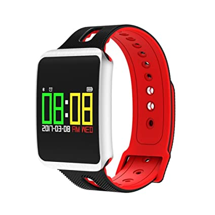 Reloj inteligente digital de fitness, TF1, monitor de ...