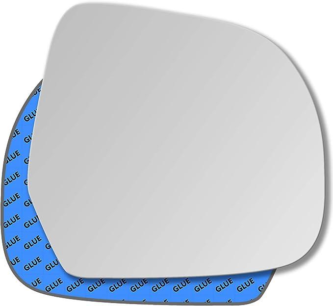 Miroir de verre droit pour Dacia Dokker Duster Nissan Micra verre convexe MIROIR
