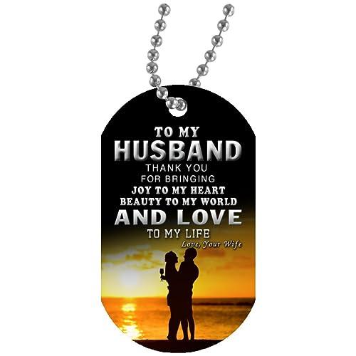 Amazon.com: econvenience tienda marido esposa joyas etiqueta ...