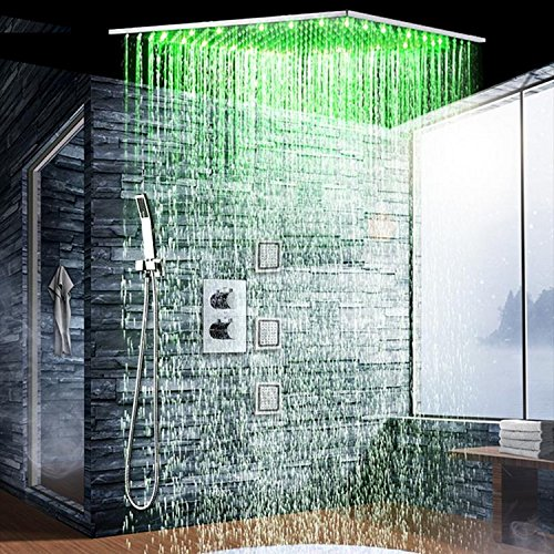 Gowe Bathroom Shower Accessories thermostatic shower set with 24