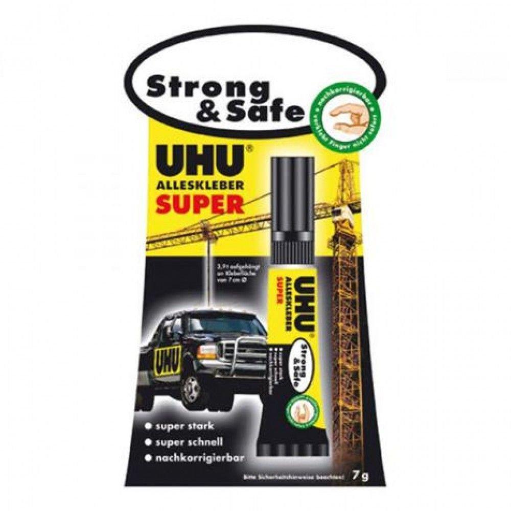 UHU Strong & Safe sans SOLVANT Tube 7 G*