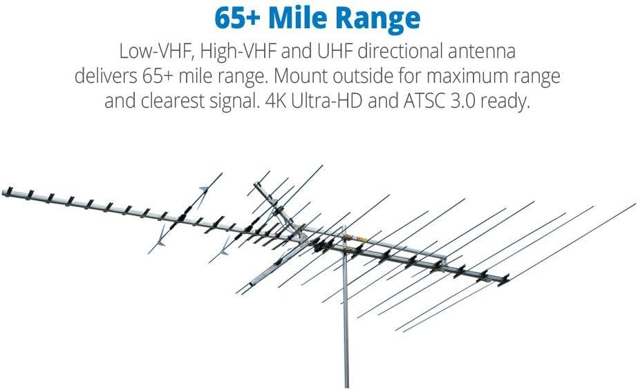 WINEGARD COMPANY HD7000R PLATINUM SERIES HD LO-VHF H-VHF UHF ANTENNA