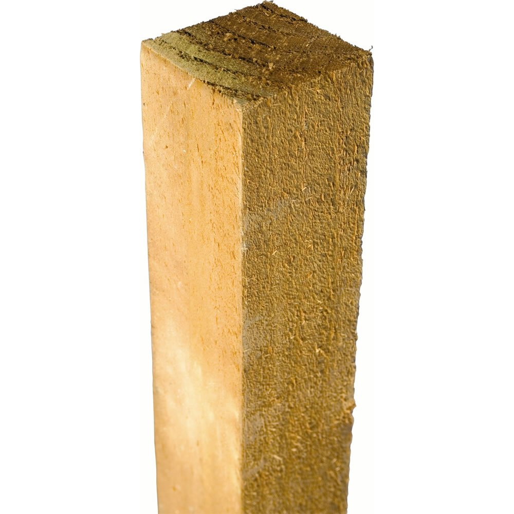 Timber Fence Posts 3 X 3 X 8ft Long 1qty Amazon Co Uk Diy Tools