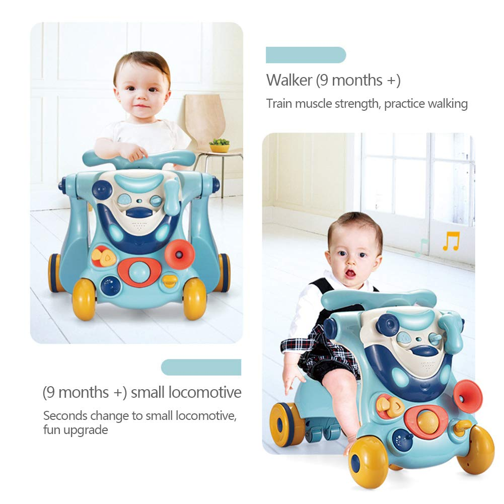 L-baby 3in1 Kid First Step Walker, Walker Sit-to-Stand, Juguete ...