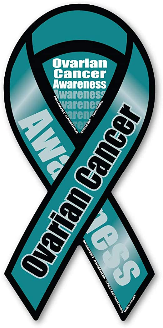 Amazon Com Ovarian Cancer Awareness 2 In 1 Ribbon Magnet Automotive