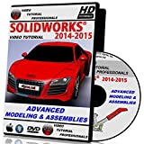 Solidworks 2014-2015 Advanced Modeling & Assemblies Video Tutorial in HD