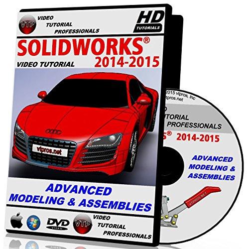 Solidworks 2014-2015 Advanced Modeling & Assemblies Video Tutorial in HD by VTPROS.NET