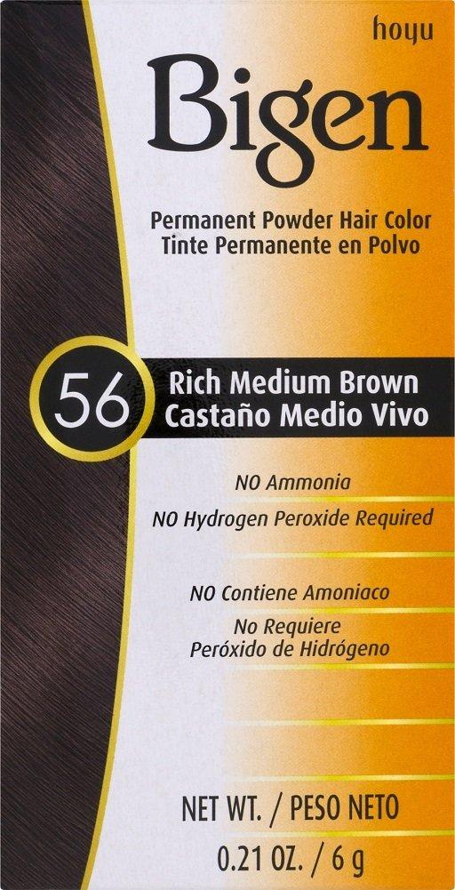 Amazon.com : Bigen Powder Hair Color #11 Dark Brown .11 oz. (Case ...