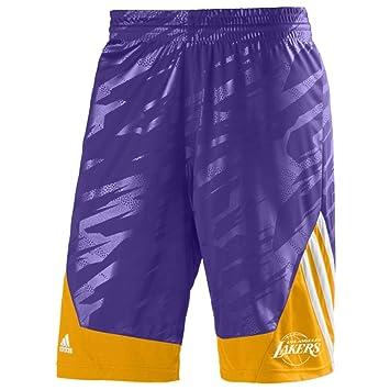 adidas Men s Shorts LA Lakers S  Amazon.co.uk  Clothing eeab7bc4e209
