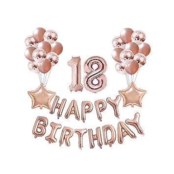 18 Fiesta De Cumpleaños Hincha De Grupo De Número De ...
