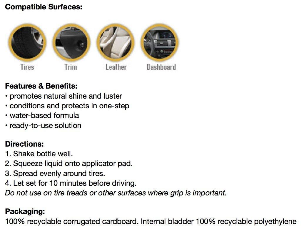 Eco Touch (TSH5G) Tire Shine - 5 Gallon