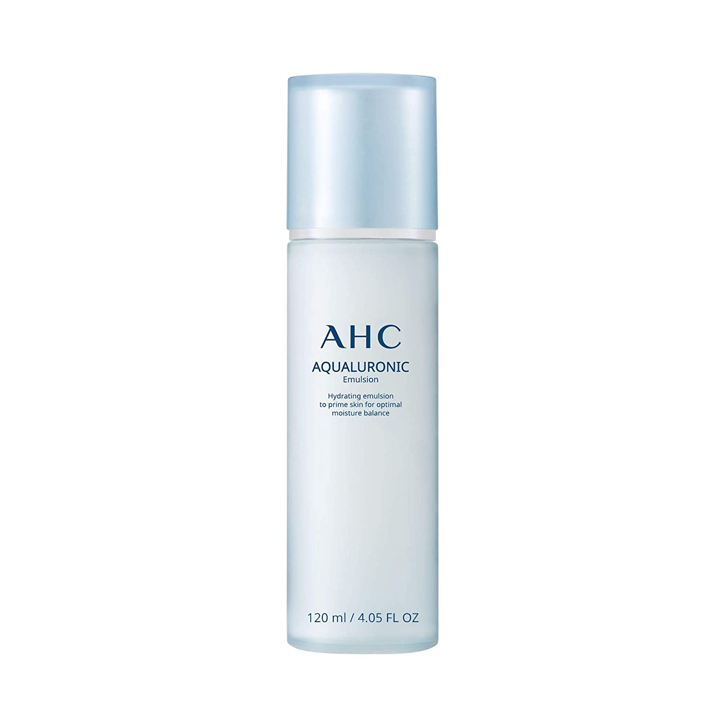 AHC Aqualuronic Emulsion for Dehydrated Skin Triple Hyaluronic Acid Face Lotion Korean Skincare 4.05 oz