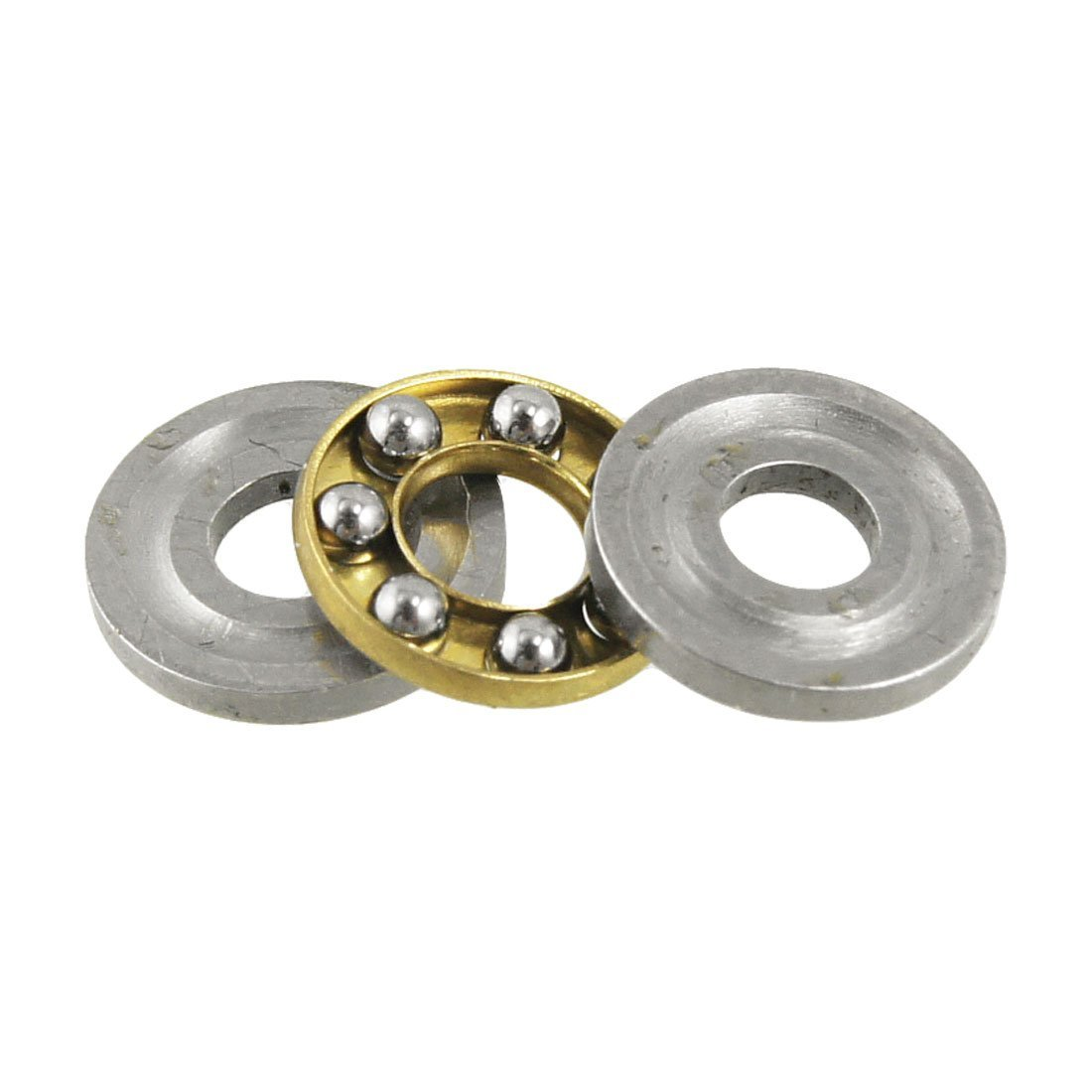 8mm x 3mm x 3.5mm Single Direction Axial Thrust Ball Bearing Sourcingmap a12071000ux0875