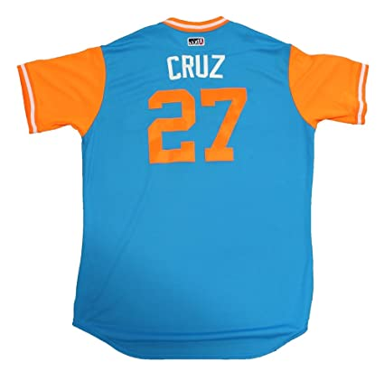 Image Unavailable. Image not available for. Color  Giancarlo Stanton Game  Used 2017 Players Weekend ... b2b0f786b1c