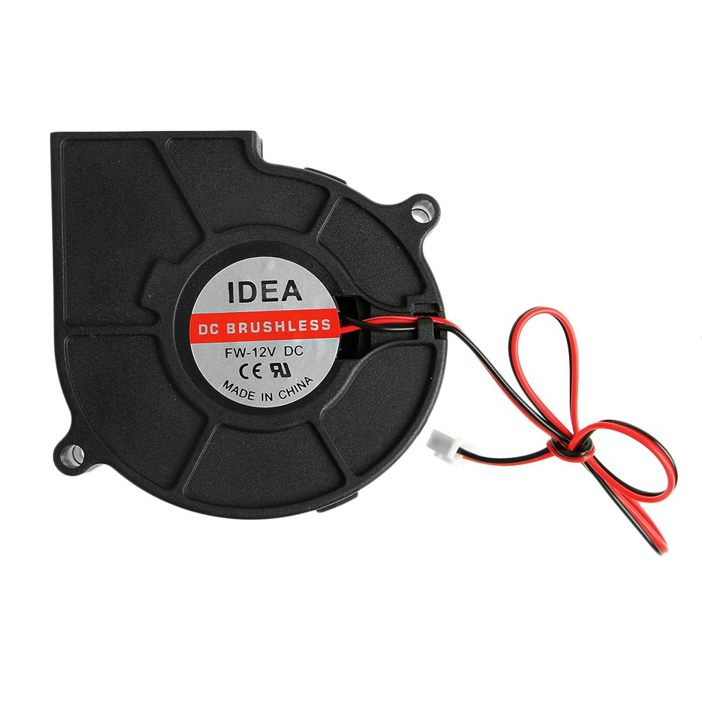 Onpiece 75mmx30mm DC 12V 0.24A 2-Pin Computer PC Sleeve-Bearing Blower Cooling Fan 7530