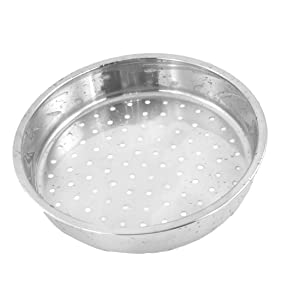 Round Stainless Steel Food Cooking Steamer Rack Cookware 8.3 Inch Dia