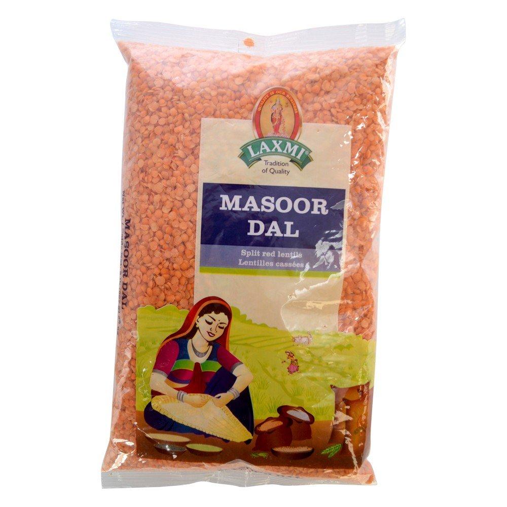 Laxmi Masoor Dal (Red Lentils) - 4lb Bag