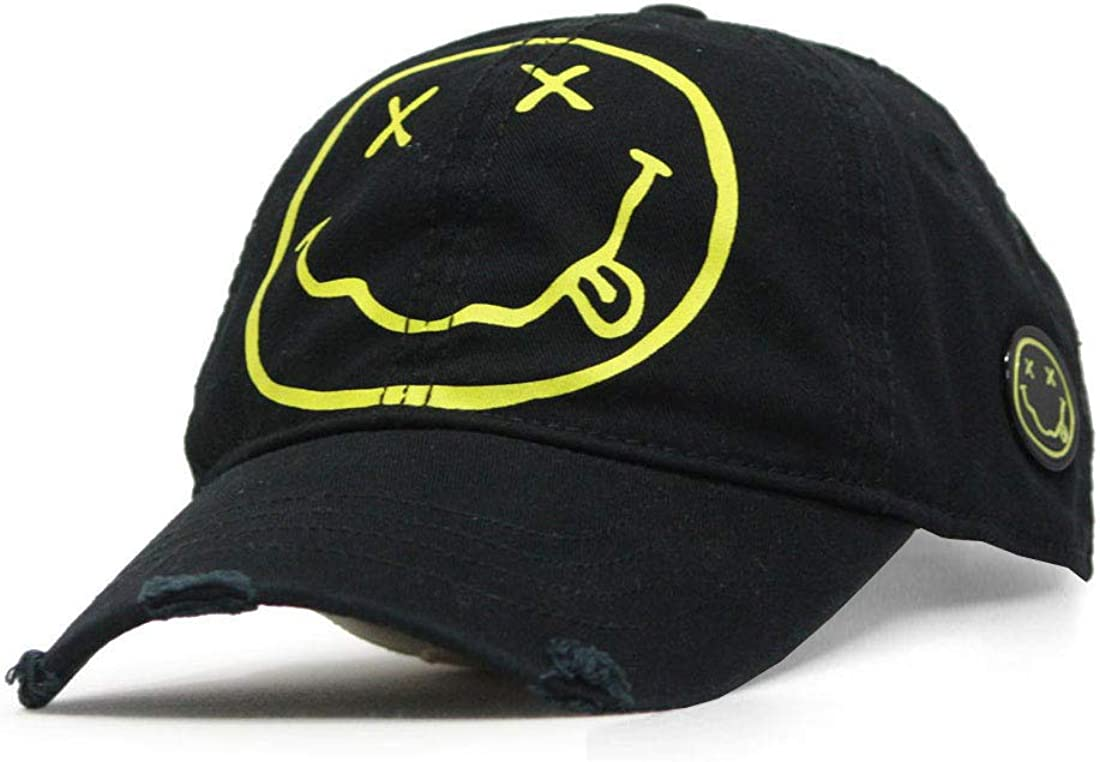 Nirvana Rock Band Cotton Music Men Women Adjustable Baseball Cap