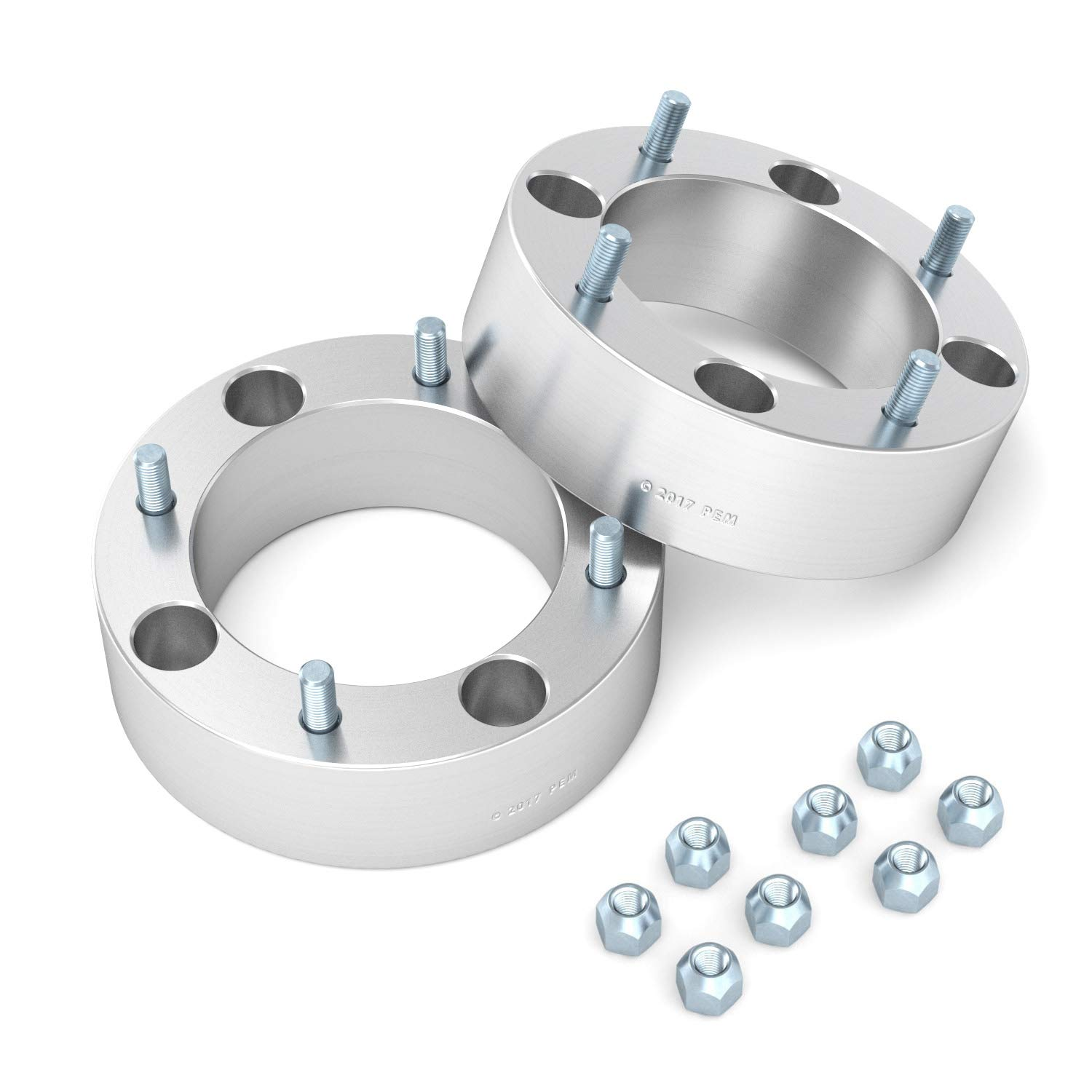 RockTrix for Precision European (4) 2'' Thick 4x137 ATV Wheel Spacers - 10x1.25 Studs for Kawasaki Can Am Can-Am: Brute Force Mule Outlander Commander Maverick Renegade Bombardier, bobcat wheel spacers by RockTrix (Image #4)