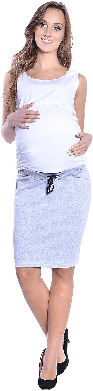 Gonna con fascia morbida stile casual Premaman e gravidanza 9050 Mija