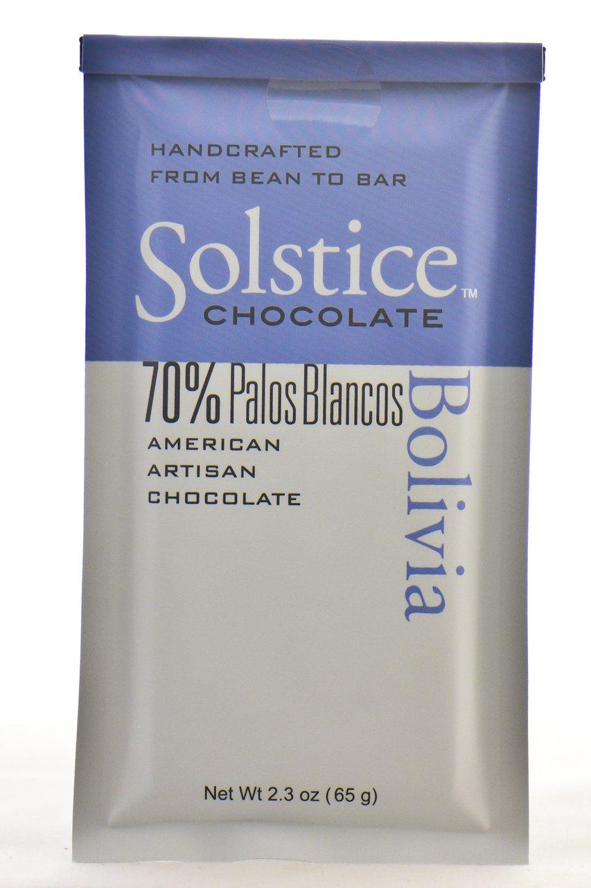 Amazon.com : Solstice Bolivia Chocolate Bar 70% : Grocery & Gourmet Food
