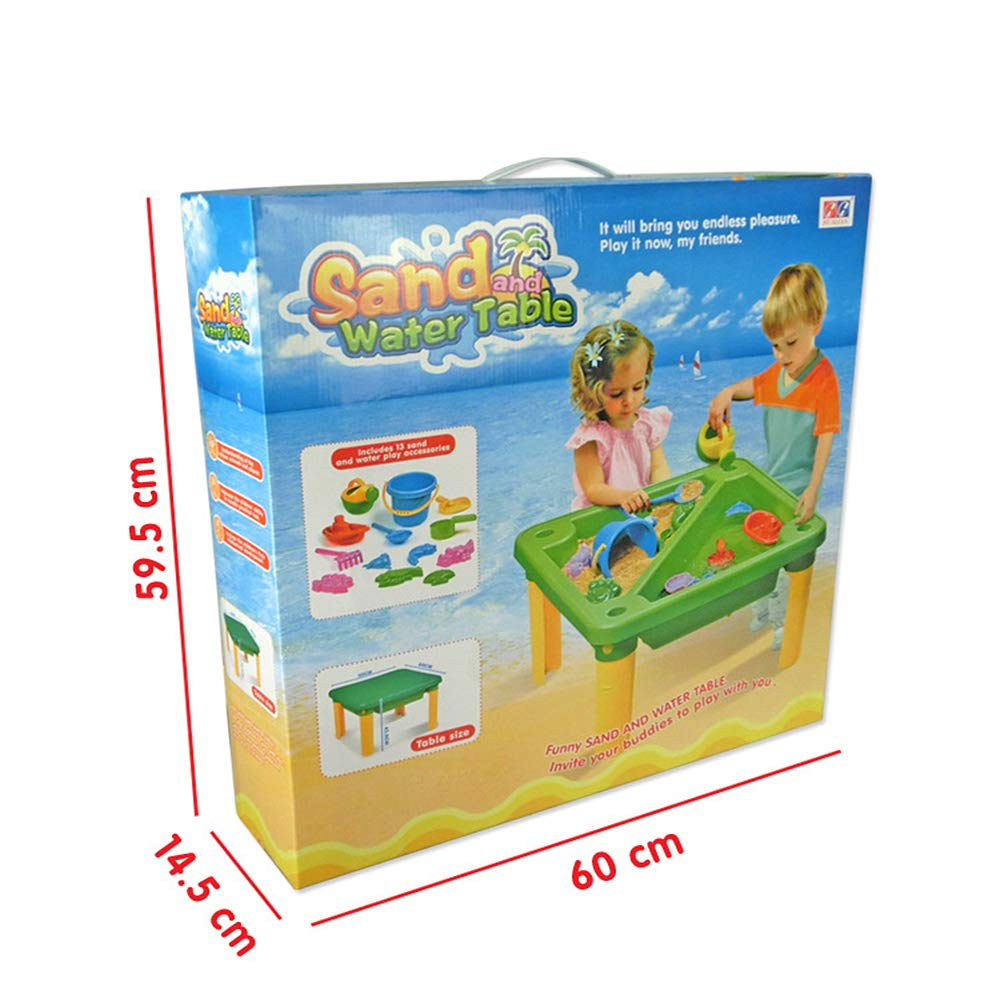 Children's Toy Sand Water Table Set, Beach Table Multiplayer Summer Play Water Kids Amusement Park Toys Seaside Play Holiday Travel by Pandady (Image #6)